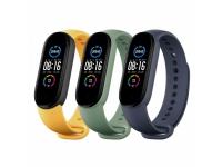 Xiaomi Mi Smart Band 5 Strap (3 pack) (Blue, Yellow, Green)