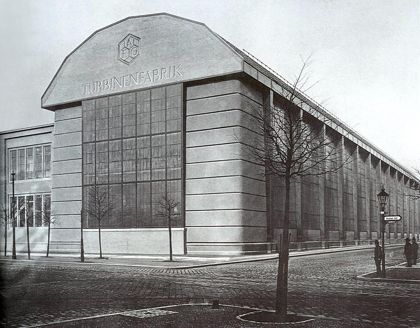 Peter Behrens Turbine Factory Smarthistory
