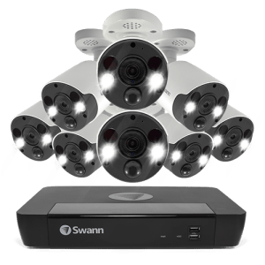 Swann 8 Spotlight Camera 16 Channel 4K Ultra HD NVR Security System