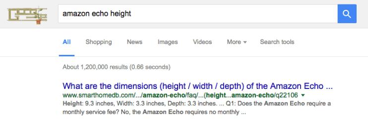 echo-height