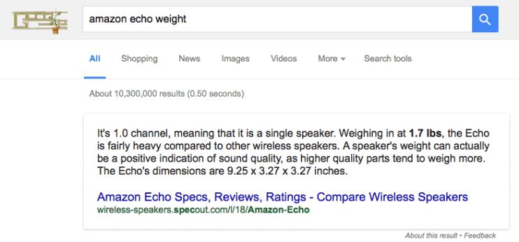echo-weight