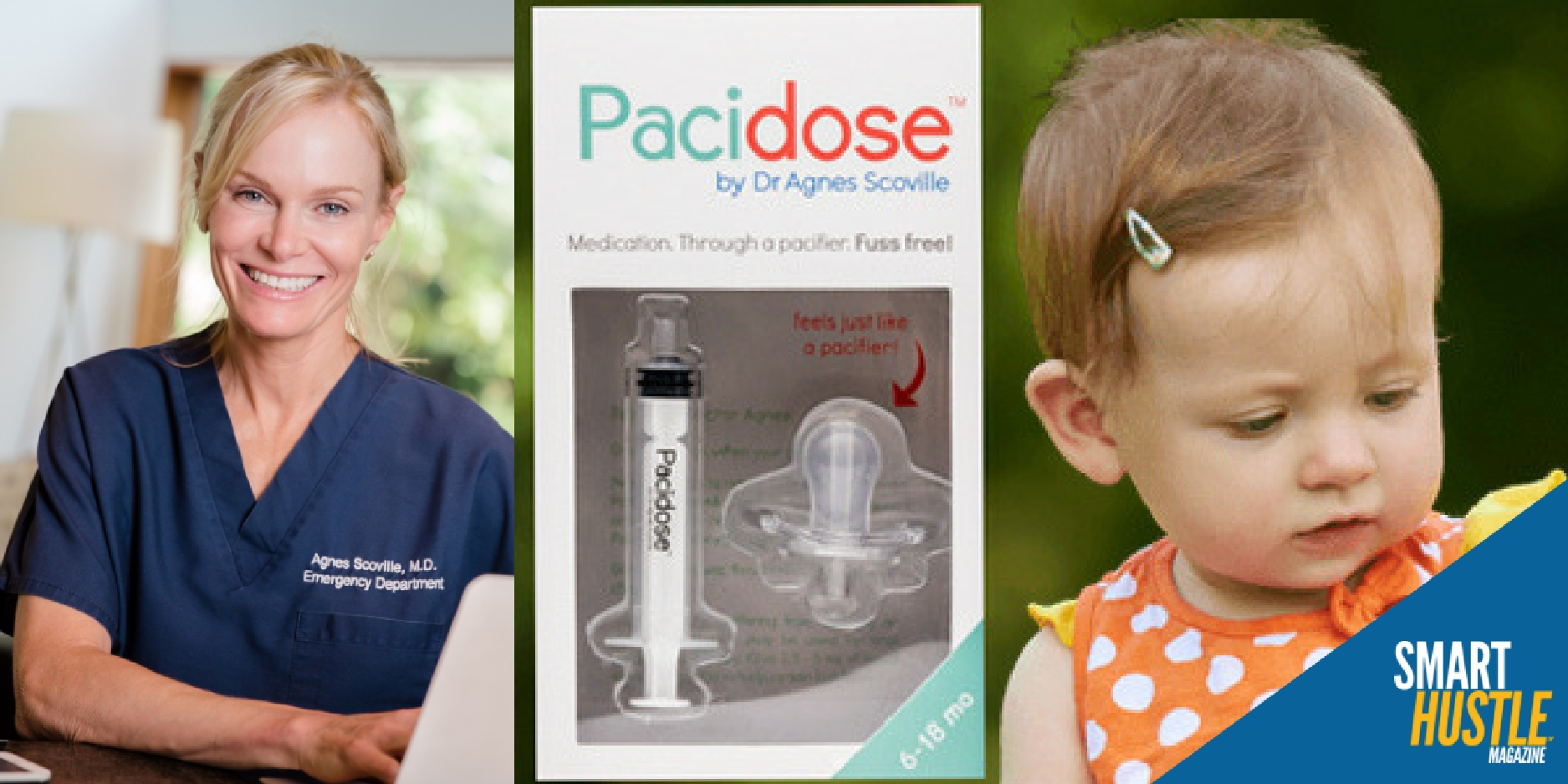 How an Entrepreneurial Doctor's Product is Helping Babies Take Medicine