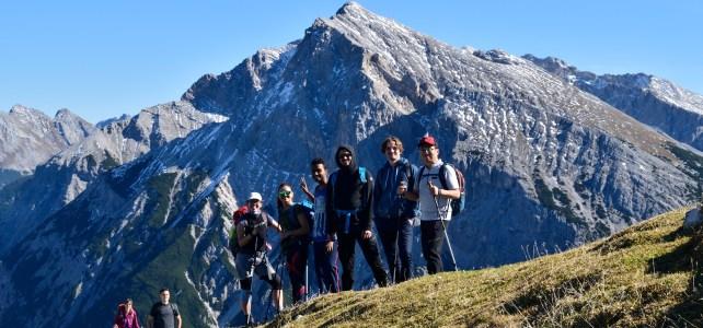 Hiking to Brunnensteinspitze (2180m)