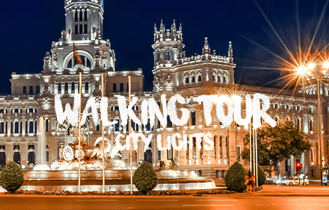 Walking Tour: Madrid City Lights