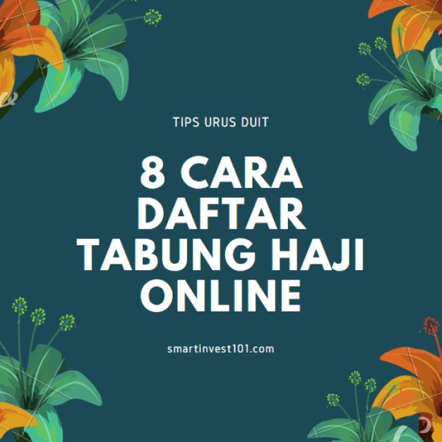 cara daftar Tabung Haji Online