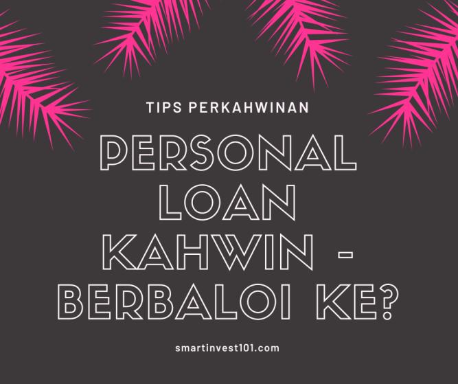 personal loan kahwin