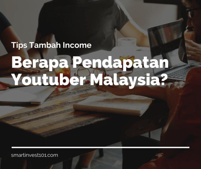 pendapatan youtuber malaysia