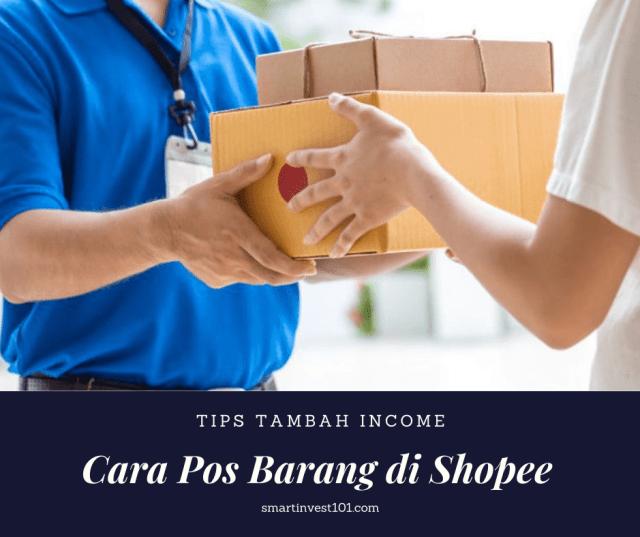 cara pos barang di Shopee