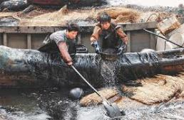 oil pipeline cleanup