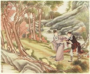 Read more about the article THE GOLDEN NUGGET – Chinese Fairy Tales