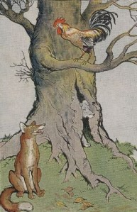THE DOG, THE COCK, AND THE FOX – Aesop Fables for Kids