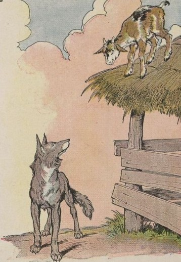 THE KID AND THE WOLF – Aesop Fables for Kids