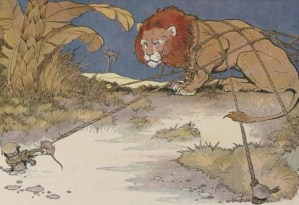 THE LION AND THE MOUSE – Aesop Fables for Kids
