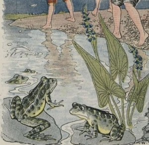 Read more about the article THE BOYS AND THE FROGS – Aesop Fables for Kids