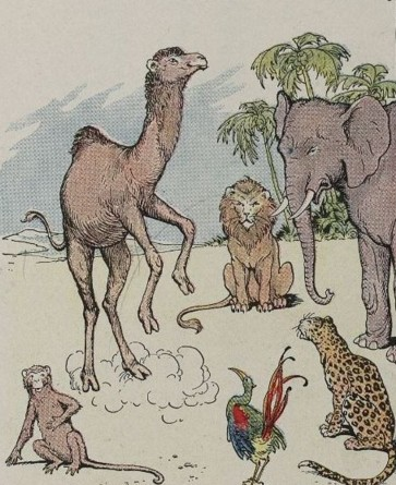 THE MONKEY AND THE CAMEL – Aesop Fables for Kids