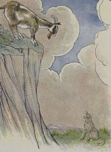 Read more about the article THE WOLF AND THE GOAT – Aesop Fables for Kids