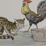 THE CAT, THE COCK, AND THE YOUNG MOUSE – Aesop Fables for Kids