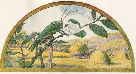The Grasshopper And The Ant – Jean De La Fontaine Fables