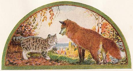 The Cat And The Fox – Jean De La Fontaine Fables