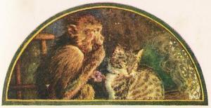 The Monkey And The Cat – Jean De La Fontaine Fables