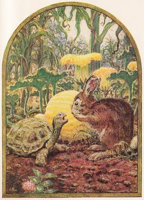 The Hare And The Tortoise – Jean De La Fontaine Fables