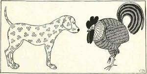THE DOG AND THE COCK – Russian Fairy Tales – Pictures