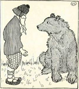 THE PEASANT AND THE BEAR – Russian Fairy Tales – Pictures