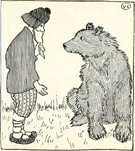 Fairy Tales of the Slav Peasants - THE PEASANT AND THE BEAR - Fig 1