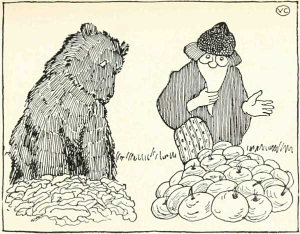 Fairy Tales of the Slav Peasants - THE PEASANT AND THE BEAR - Fig 2