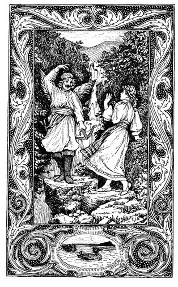 TIME AND THE KINGS OF THE ELEMENTS – Slavic Fairy Tales