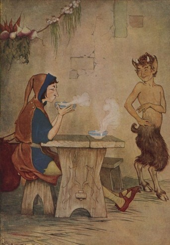 THE MAN AND THE SATYR - Aesop Fables for Kids