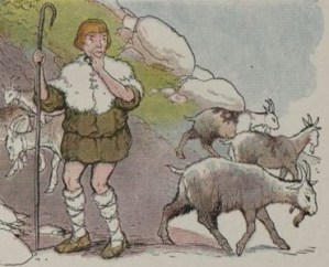 Read more about the article THE GOATHERD AND THE WILD GOATS – Aesop Fables for Kids