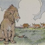 THREE BULLOCKS AND A LION – Aesop Fables for Kids