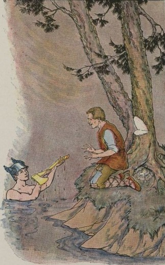 MERCURY AND THE WOODMAN – Aesop Fables for Kids