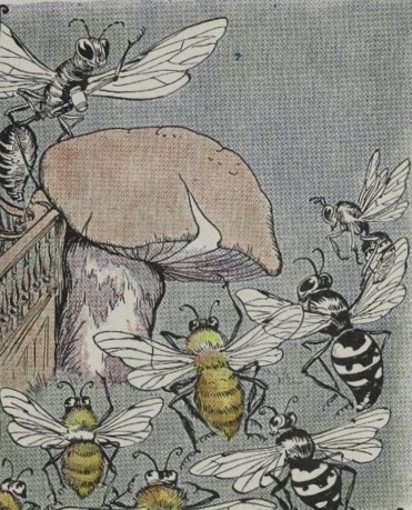 THE BEES AND WASPS, AND THE HORNET – Aesop Fables for Kids