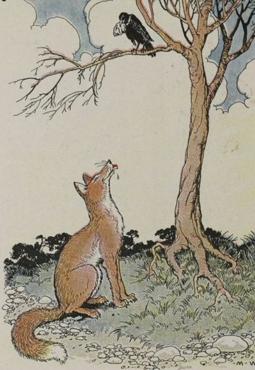 THE FOX AND THE CROW - Aesop Fables for Kids