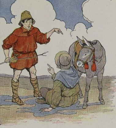 THE ASS AND ITS SHADOW - Aesop Fables for Kids