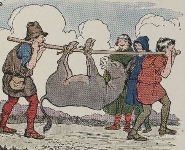 THE MILLER, HIS SON, AND THE ASS - Aesop Fables for Kids