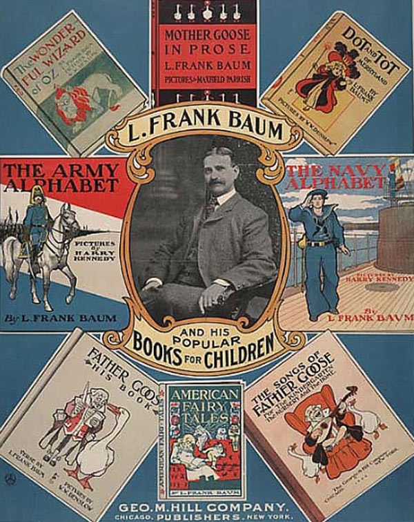 THE DUMMY THAT LIVED – American Fairy Tales By Lyman Frank Baum