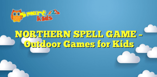NORTHERN SPELL GAME – Outdoor Games for Kids