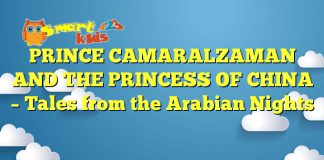 PRINCE CAMARALZAMAN AND THE PRINCESS OF CHINA – Tales from the Arabian Nights
