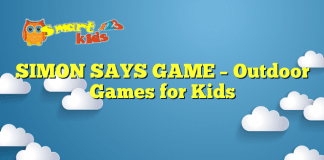 SIMON SAYS GAME – Outdoor Games for Kids