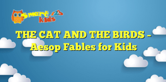 THE CAT AND THE BIRDS – Aesop Fables for Kids