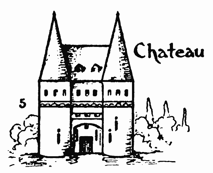 Drawing for kids step by step – How to draw Chateau