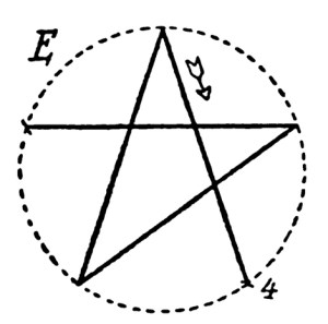 how to draw a five pointed star 5