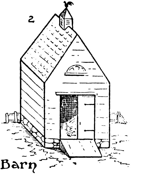 How To Draw A Barn Step By Step Smart Kids 123