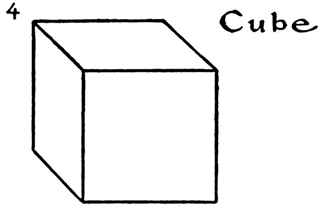 Drawing for kids step by step - How to draw Cube 4
