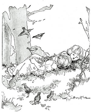 Babes in the Wood - Story for kids with pictures - fig 1