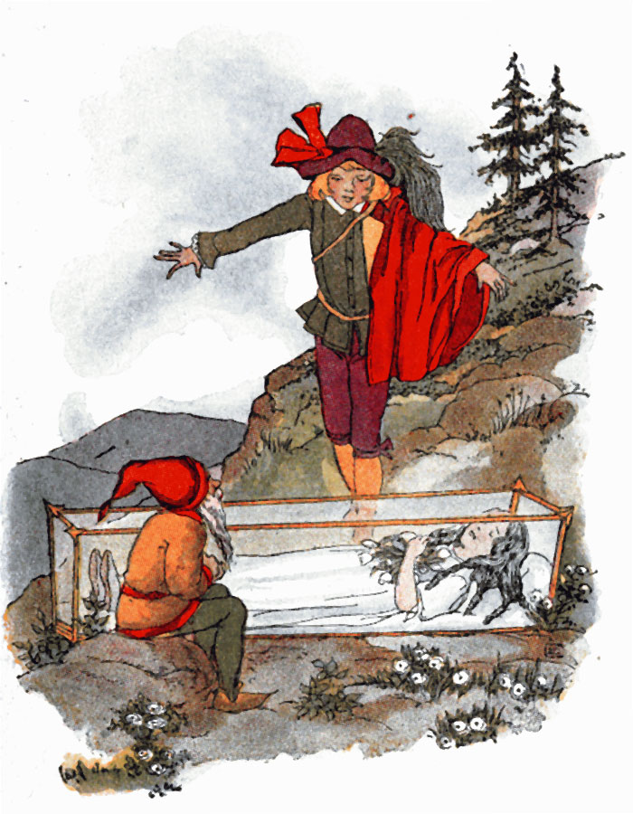 Snowdrop And Seven Little Dwarfs short story with pictures - Image 8