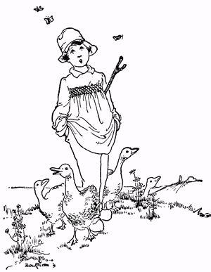 The goose-girl - story with pictures - Fig 6